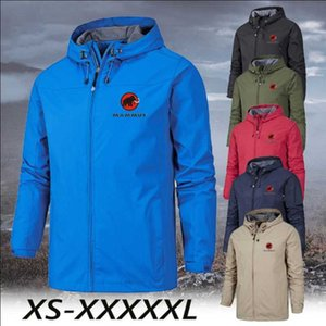 Autumn and Winter Outdoor Sports Men Stormsuit 6-color Coat Casual Zipper Jacket Large Size Xs-5xl