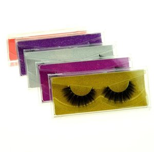 nice 3D Mink eyelash False Eyelashes Natural Long Fake Eyelash Extension Thick Cross Faux 3d Mink Eyelashes Eye Makeup dhl