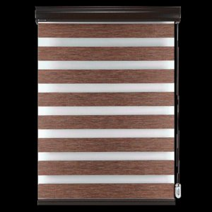 Blinds BERISSA Zebra Shades Cordless Blackout Double Curtains Or Privacy Control Day Night Custom Size