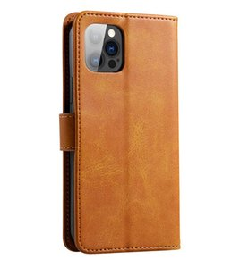 Leather Wallet Case Retro Flip Stand Cell Phone Credit Card Slots For iPhone X XR XS MAX 11 Pro 12 mini