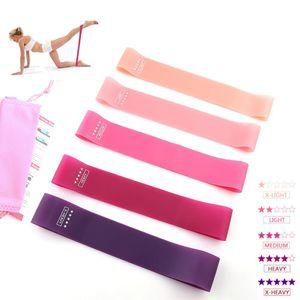 5 Levels Resistance Bands Exercises Elastic Fitness Training Yoga Loop Band Workout Pull Rope Bands wmtzhW xhlove