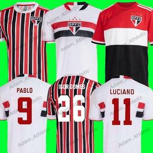 Sao Paulo Soccer Jerseys 2021/22 Pablo G.Sara Igor Gomes Jersey Football Entraîneur Shirts J.Calleri Hernanes Luan Luciano Uniformes Goleiro Camisa Treino Spfc Hommes Femmes