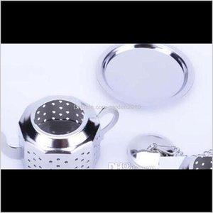 Utensili da caffè Super Carino e Utile 304 Acciaio inox Seria inox Teiera Forma Tea Infuser Strainer Strumento all'ingrosso DA6MW FHXJW