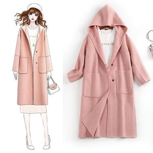 Wool Coat Winter Coats Womens Clothes Belted Fall 2021 Women Cashmere 's & Blends Women's