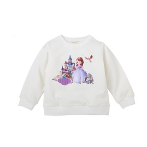 Spring and Autumn Childrens Clothing Childrens Sweater round Neck Top Trendy Long Sleeve Male Baby Clothes Cartoon Medium and Small Boys and
