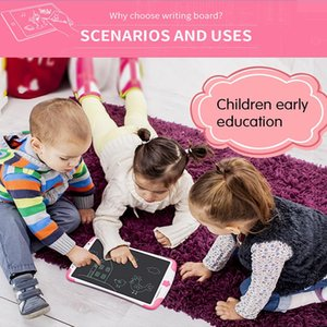 Whiteboards Hand Writing Board For Kids Digital Electronic Lcd Doodling Color Graffiti Children In Drawing Toys Draw Home 8.5 12