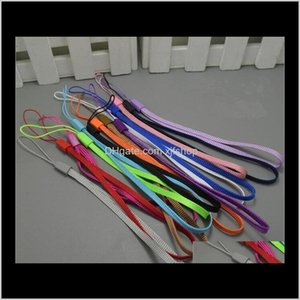 Charms Cell Phone Hang Rope Wrist Hand Mobile Chain Straps Keychain Charm Cords Diy Lariat Lanyard 1000Pcslot Ulp7K Mqwuy