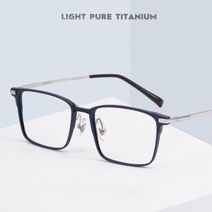 Reven Jate L5051 Optik Gözlük Çerçeve Erkekler için Gözlük Reçete Gözlük RX Alüminyum Gözlük Moda Güneş Gözlüğü Çerçeveleri