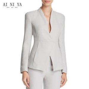 Jacket+Pants Women Casual Office Business Suits Formal 2 Piece Sets Uniform Styles Ladies Elegant Pant Female Trouser Suit Women's Two Pants