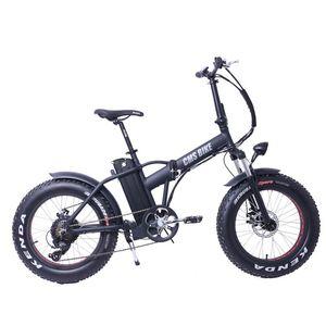 Electric Bicycle CMSTD-20PZ 500w Powerful Foldable Ebike 20 Inch Adult Fat Tire Folding E Bike