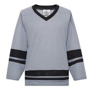 2021 hombre en blanco Hockey sobre hielo jerseys uniformes al por mayor práctica de hockey camisas buenas 02588