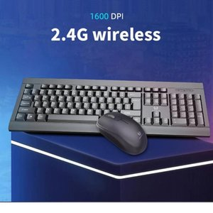 Keyboard Mouse Combos 2.4G Wireless And Set Business Office Gaming Kit For PC Laptop Computer Game