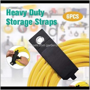 Bags 1Pc Heavy Duty Storage Straps Extension Cord Holder Organizer Fit With Garage Hook Pool Hose Hangers Strongly Viscous Gadget Iro0 1Zcme