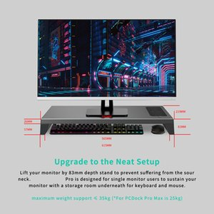 Standard of Monitor Stand Upgrade your setup with built-in Touch ID, WiFi, Bluetooth and more functions all designed in one