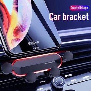 Гравитационный автомобильный держатель телефона для iPhone XS Универсальный воздушный вентиляционный крепление Поддержка мобильных смартфонов Подставка для мобильного телефона