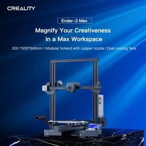 Creality Ender 3 Max Улучшена большой объем печати 300 * 400 Большой размер DIY 3D Принтер принтер принтер