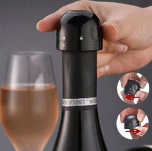 sparkling water red wine Bottle Favors champagne sealing fresh-keeping mini stopper Drinkware Lid Food grade ABS Silicon