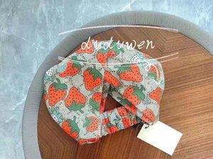 Elastic slik Headband yoga sport party classical Strawberry designed Hair bands For Women Girl Retro Headwraps