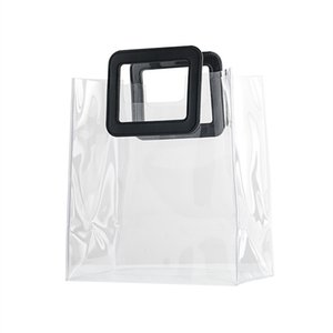 Luxurys Designers Bags Transparent PVC handbag ins net red companion Handbags high grade cosmetics shopping bag packaging gift packs