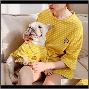 Apparel Parentchild Matching Clothing Dogs Hoodies French Bulldog For Dog Shirt Clothes Puppy Pet Outfits 201102 6Ezmr Ihqhn