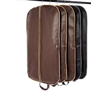 New Coffee Folding Business Suit Coat Clothe Garment Dust Cover Protector Storage Bag dsf0283