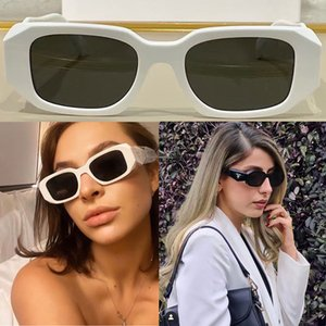 Women P home sunglasses SPR17WF designer party glasses ladies stage style top high quality Fashion concave-convex three-dimensional line mirror frame Size 51-20-145