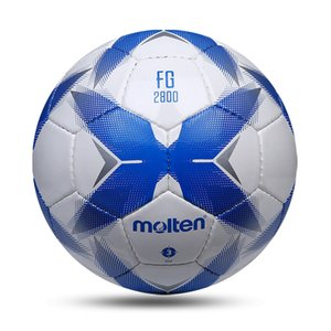 Molten Official Soccer Ball Size 3 Childrens Ball PU Hand-stitched Wear-resistant Sports Training Football futebol
