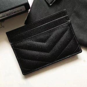 Парижская мода аксессуары для женщин держатель карты элегантная дама бренда сцепления кошелек черный маленькая кожаная сумка икра мини монеты кошелек