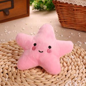 13 * 13 * 5cm 3 Color Starfish Enjolfish de peluche Jouets amusants Jouets cadeaux pour enfants CCF5998