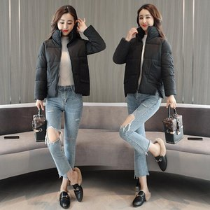 Women's Trench Coats Casual Solid Short Woman Winter And Jackets Fashion Warm Loose Padded Jacket Pockets