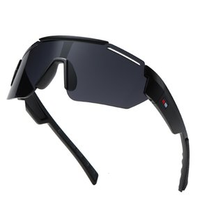 Sunglasses riding big frame colorful outdoor wind proof fashion men's Sports