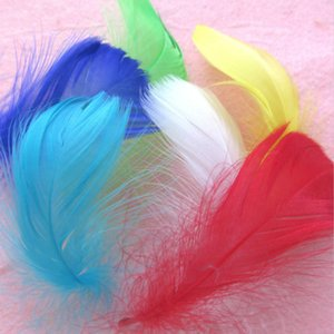 Bobo ball feather clothing decoration DIY color Zhongfu feather gift box decoration materials
