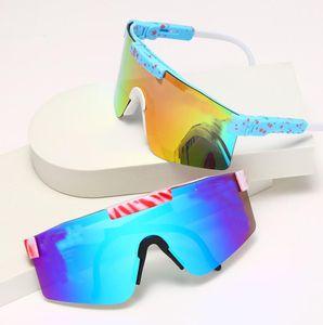 Verão homem esporte óculos de sol mulheres esporte ao ar livre ciclismo óculos condução de vidro ciclismo óculos praia dirigindo óculos de se dobrando as pernas