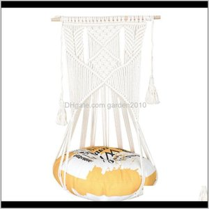 Furniture 80 Cat Hammocks Chair Cotton Rope Weaving Indoor Outdoor Garden Yard Cushion Shelf Seat Lounger Couch Sofa With Suction Beds Rma7Z
