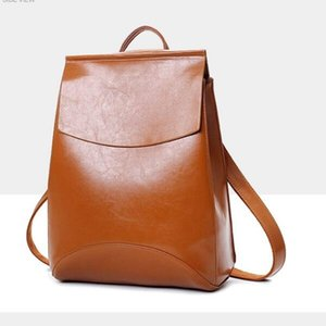 2021 backpack ladies Korean version of the trend foreign trade leisure college wind school bags travel bag dual-use backpacks