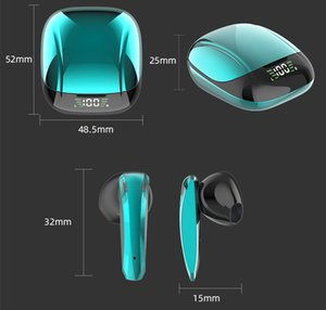 E68 TWS Bluetooth earphone 5.0 Wireless Headphone Noise Cancelling Headset 3D Stereo Sound Music In-ear Earbuds For Iphone XiaoMi HuaWei Android IOS Cell Phone