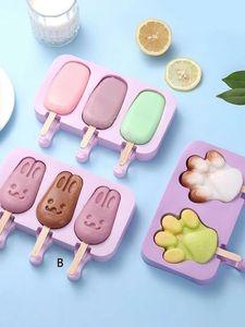 2021 Moules de cuisson au silicium conçues pour gâteau glacée gâteau moule de chocolat mignon animaux fruits enfants en forme d'enfants adultes digue cuisine outils CPA3420