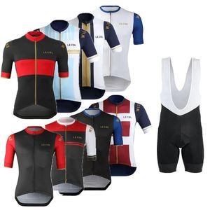 Гоночные наборы Le Co Coyting Jersey Set 2021 от Wiggins одежда мужские велосипеды шорты MTB дорожный велосипед костюм рубашки Maillot Culotte