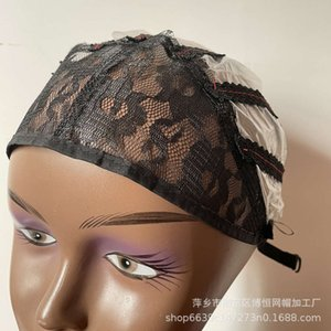الجبهة الدانتيل ورقة لاصقة الشعر قابل للتعديل الجلود رئيس غطاء صافي الباروكة الداخلية قبعة