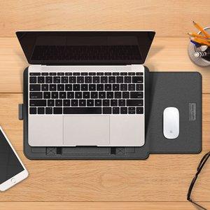 "Сумка втулки втулки ноутбука для MacBook Air 11 12 13 PRO 15 сумочка 13.3 ""15.4"" 15.6 ""дюймовая обложка ноутбука Dell HP Lenovo с подставкой"