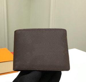 Atacado couro curta carteira senhora de alta qualidade titular de cartão moeda bolsa de moda moda bolso clássico 075-M60895
