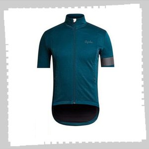 Pro Team rapha Cycling Jersey Mens Summer quick dry Sports Uniform Mountain Bike Shirts Road Bicycle Tops Racing Clothing Outdoor Sportswear Y21041302