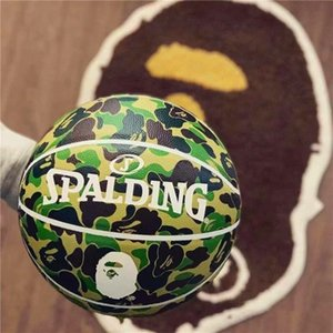 Spalding Camouflage Colour Homo Eectus 24K Black Mamba Merch ball Python pattern Commemorative edition PU game basketball size 7 with box