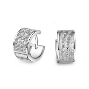 Xiya Ins Shop 925 Sterling Sier Wedding Earrings for Women Trendy Elegant Zircon Party Jewelry Gifts Prevent Allergy