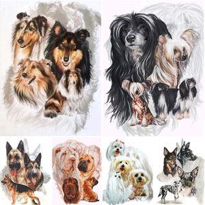 5D DIY Diamond Painting Animals Dog Cross Stitch Kit Full Drill Square Embroidery Mosaic Art Picture Of Rhinestones Decor Gift