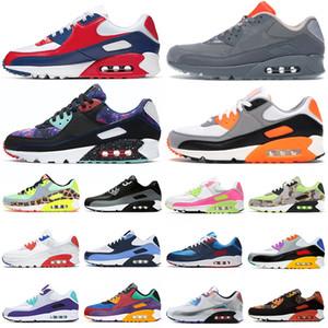 USA 90 scarpe da corsa uomo donna chaussures 90s Camo Worldwide Supernova triple bianche nere da uomo scarpe da ginnastica sportive da esterno
