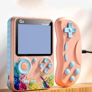 Portable Game Players Retro Video Console Handheld Pocket For Kids Built-in Classic 500 Player Gift S6j2