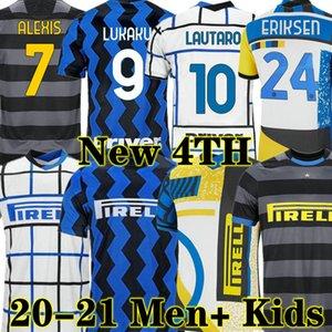 INTER MILAN 19 20 21 Thailandia LUKAKU ERIKSEN LAUTARO Inter Milan 2020 2021 maglia da calcio SENSI AMBROSIO maglia da calcio kit