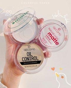 8G / 0,28 OZ Gexomo Germont Makeup Setting Порошковые поры для контроля масла Матовый полупрозрачный сухой водонепроницаемый кожа отделки Свободный фундамент 120 шт. / Лот DHL