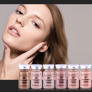 ibcccndc 12Pcs Box 8ml Skin Whitening Serum BB Glow Cream Foundation Kit Brightening Serum Ampoule Makeup Liquid Beauty CareRabi